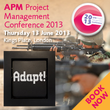 http://www.apm.org.uk/event/apm-project-management-conference-2013