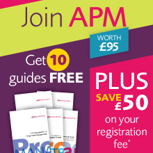 Join APM and receive 10 project management guides
